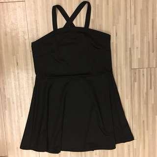 🚚 露肩黑色性感小洋裝💖