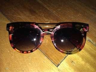 Claire's ; floral sunglasses