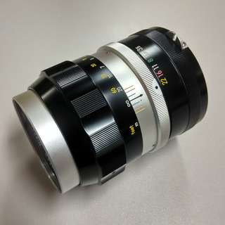 Nikon 135mm f3.5 lens