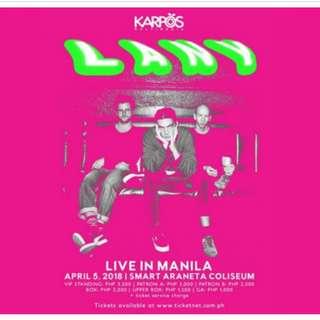 LANY Live in Manila