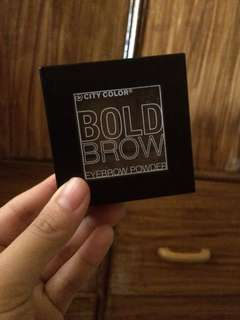 City color bold brow