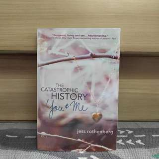 {preloved book} The Catastrophic History of You & Me by Jess Rothenberg