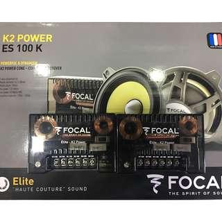 Focal K2 Power ES 100K Crossovers