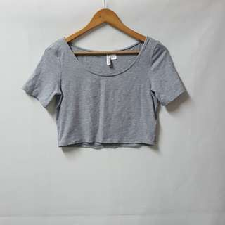 Divided by H&M basic crop top