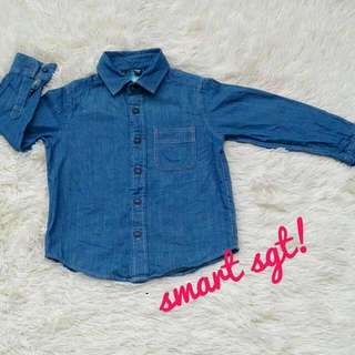 UNIQLO BOY DENIM SHIRT