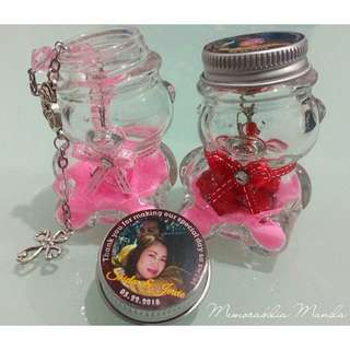Teddy Bear Jar Giveaway – Souvenir for Baptism/Birthday Party/Corporate/etc