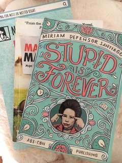 BUNDLE! Stupid is Forever, Mahal Mo Siya. Mahal Ka Ba?, Parang Kayo pero Hindi