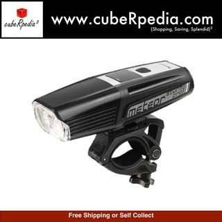 Moon Meteor Storm Pro 1700 (2000) Lumens High End USB Rechargeable White Bicycle Bike Light