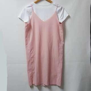 Light pink cami dress