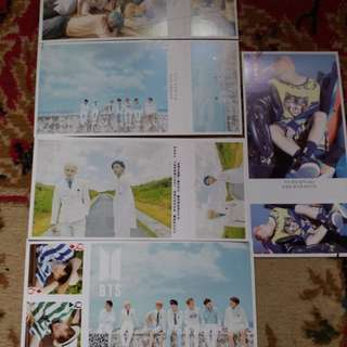 BTS postcards
