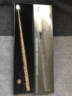 Hermione Granger's wand with Illuminating tip (Harry Potter - Universal Studios Japan)