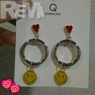 ✈韓國連線ing🇰🇷 Smiley earrings