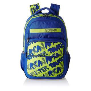 American Tourister by Samsonite Hoola Large Unisex Backpack- Blue : SUPER SALE! (Converted SRP of 3,109Php + )