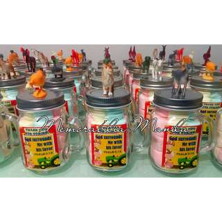 Mini Mason Jar Giveaway - Souvenir for Birthday Party/Baptism/Wedding/Debut/Corporate/Etc
