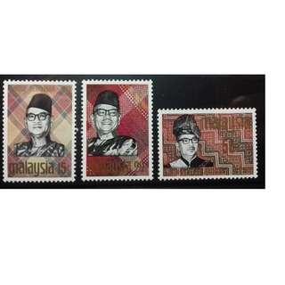 MALAYSIA 1969 SOLIDARITY WEEK SG 56 - 58 MLH OG