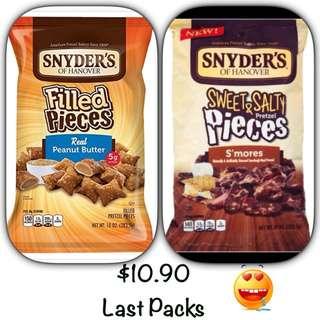 Pretzels- Last Packs!!