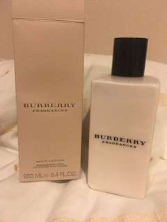 Burberry perfumed body lotion