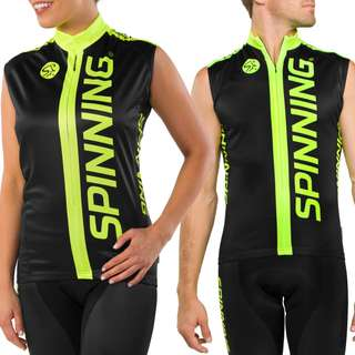 Brand New & Sealed Spinning Sleeveless Jersey (Cycling, spinning) (Size S/M)