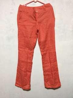 Promod trouser peach / office pants