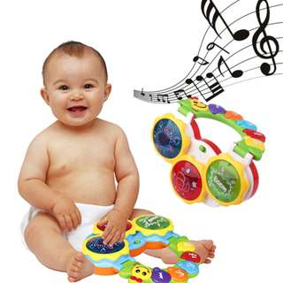 Happytime Functional Hand Clapping Drum Music Instrument Learing Eletrionic