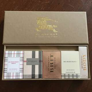 Brand New Burberry mini perfume set
