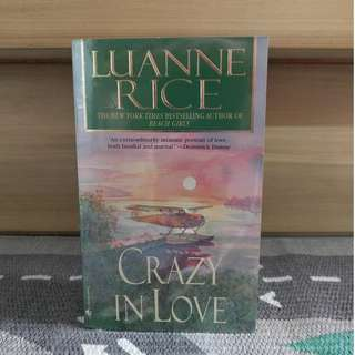 {preloved book} Crazy in Love by Luanne Rice
