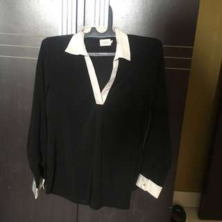 Gaudi Black Shirt / kemeja hitam