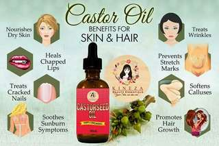Castor Seed Oil (for longer Eyelashes)