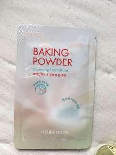 Baking Powder cleansing foam moist
