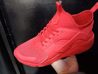 Nike Air Huarache  All red