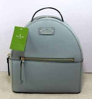 KATE SPADE Sammi Grove Street Leather Back Pack- LAKESEDGE