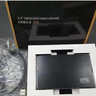 """2.5"""" laptop HDD Case with 3.0 USB"""