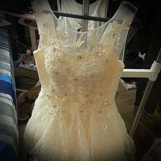 Short Prom/wedding Gown (New!)