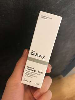 -- THE ORDINARY-- Caffeine Solution 5% + EGCG