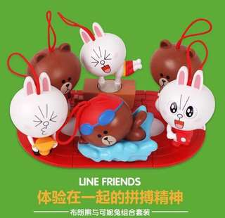 Line & Friends Mac Donald Set