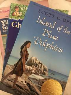 BUNDLE! Island of the blue dolphins, Elizabeth Gail and the teddy bear mystery, Ghosts