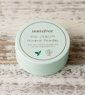 SALE! Innisfree No Sebum Mineral Powder (5g)