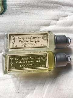 L'Occitane Shampoo and Shower Gel