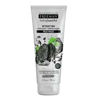 FREEMAN Charcoal + blacksugar mud mask