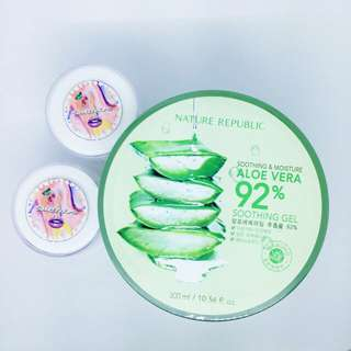 Nature Republic Aloe Vera Soothing Gel - Share in jar 10ml