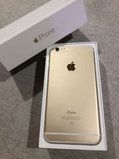 🚚 iphone 6 plus 64g 金色