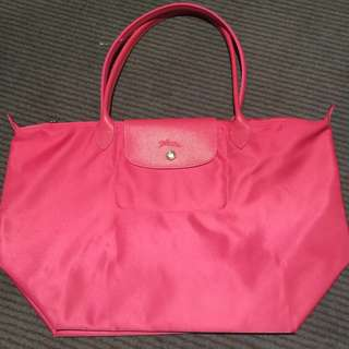 Brand New Guaranteed Authentic Longchamp Le Pliage Neo Tote Bag Large Rose