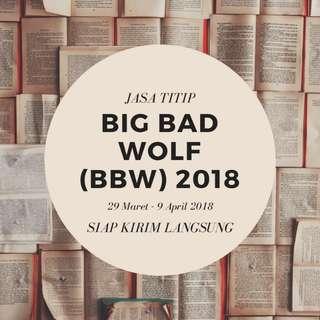 JASA TITIP BIG BAD WOLF (BBW) 2018