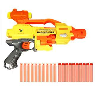 Raging Fire Electric Nerf Style - Semi Auto Soft Bullet Darts Nerf Gun Toy