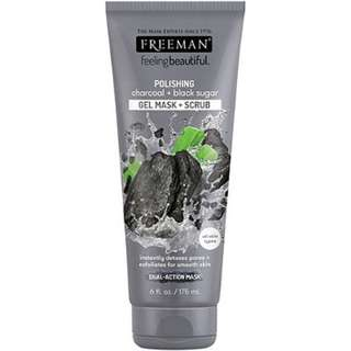 FREEMAN polishing charcoal + blacksugar mask