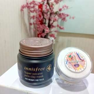 Innisfree Super Volcanic Pore Clay Mask - share in jar 10gr