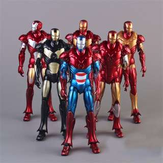 Super Heroes Avengers Iron Man 3pvc Action Figure Collection Model Puppet Toy