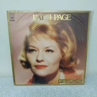 Patti Page 金裝 lp黑膠唱片 日本版