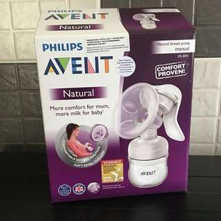 Philips Avent Natural Breast Pump