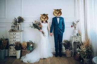Wedding gown 高質收身魚尾婚紗